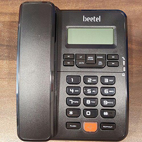 Beetel M57 CLI Corded Landline Phone