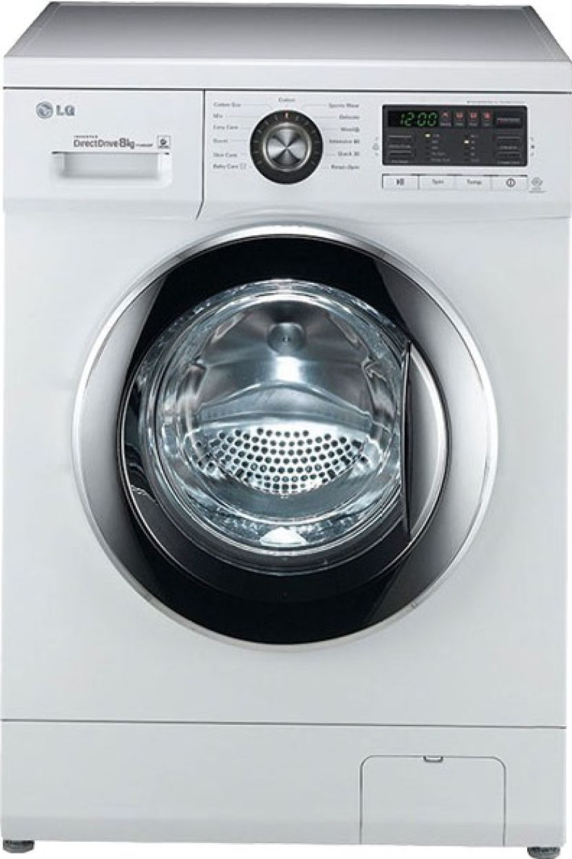 LG 8 Kg Fully Automatic Washing Machine (FH496TDL23)