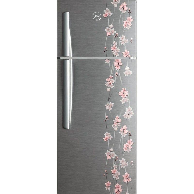 Godrej RT EON 290 P 3.4 3S (Ruby Petals) 290L Double Door Refrigerator
