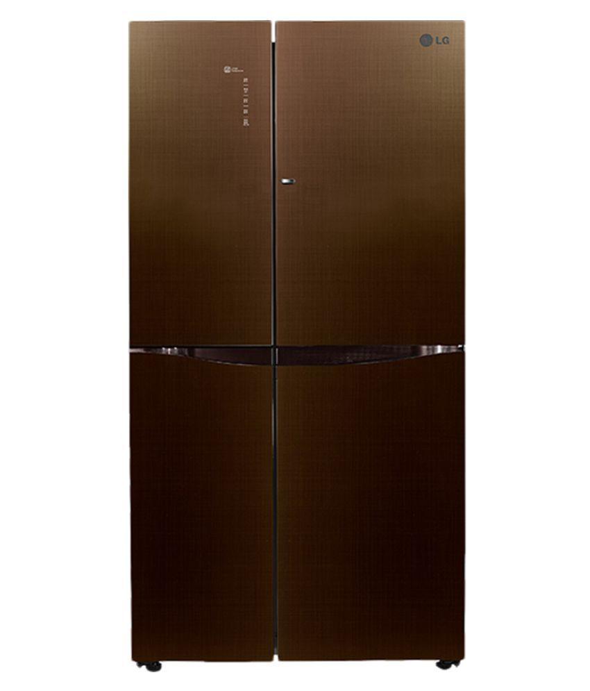 LG GC-M247UGLN 679 Ltr Inveter Side by Side Refrigerator
