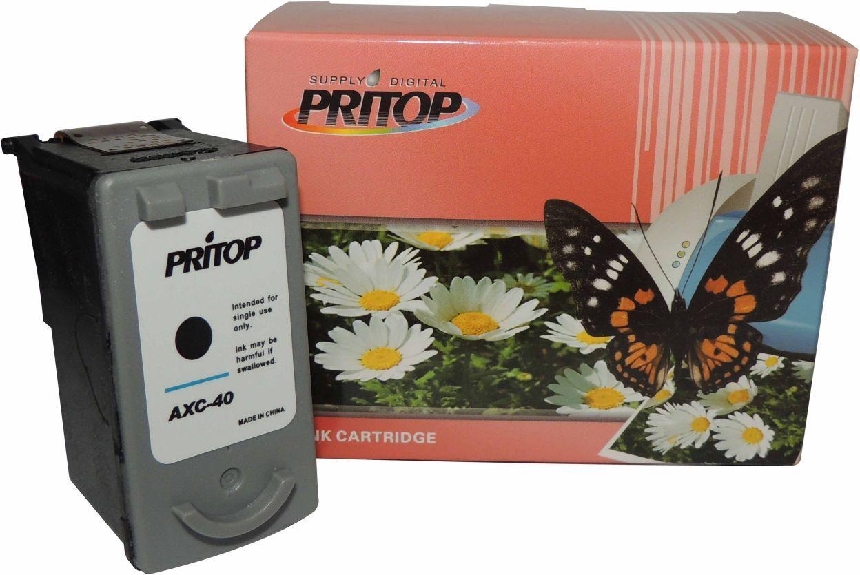 PRITOP 40XL Black Inkjet Cartridge