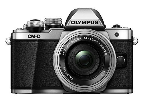 Olympus OM-D E-M10 Mark II Mirrorless Digital Camera (14-42mm EZ Lens)