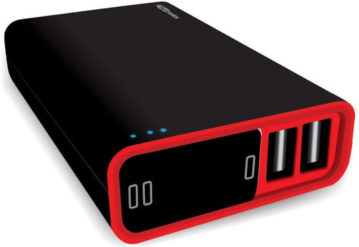 Portronics POR-386 Charge II Plus 10000mAh Dual Port Power Bank