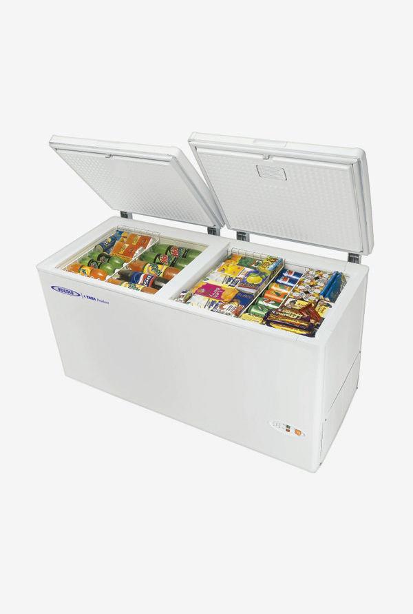 Voltas 405 L Metal Top Double Door Deep Freezer