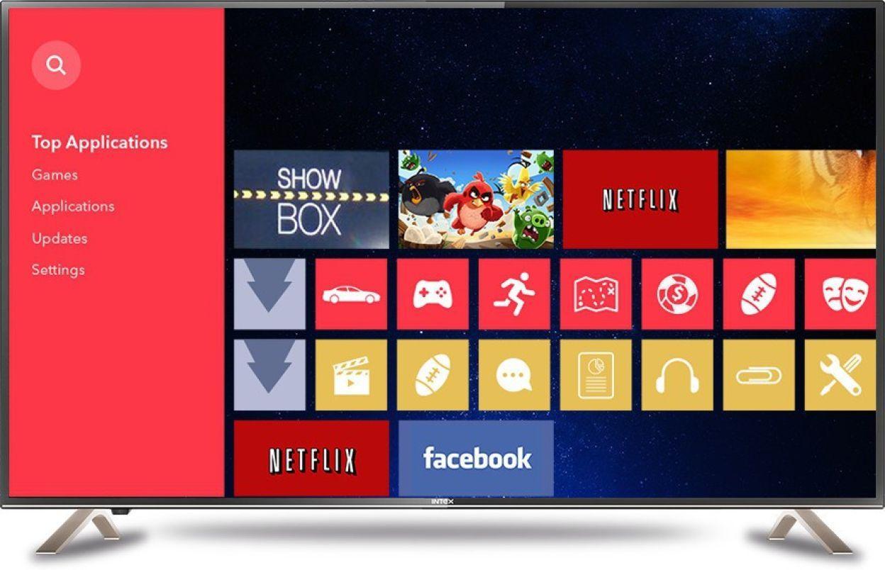 Intex 4301 43 Inch Full HD Smart LED TV