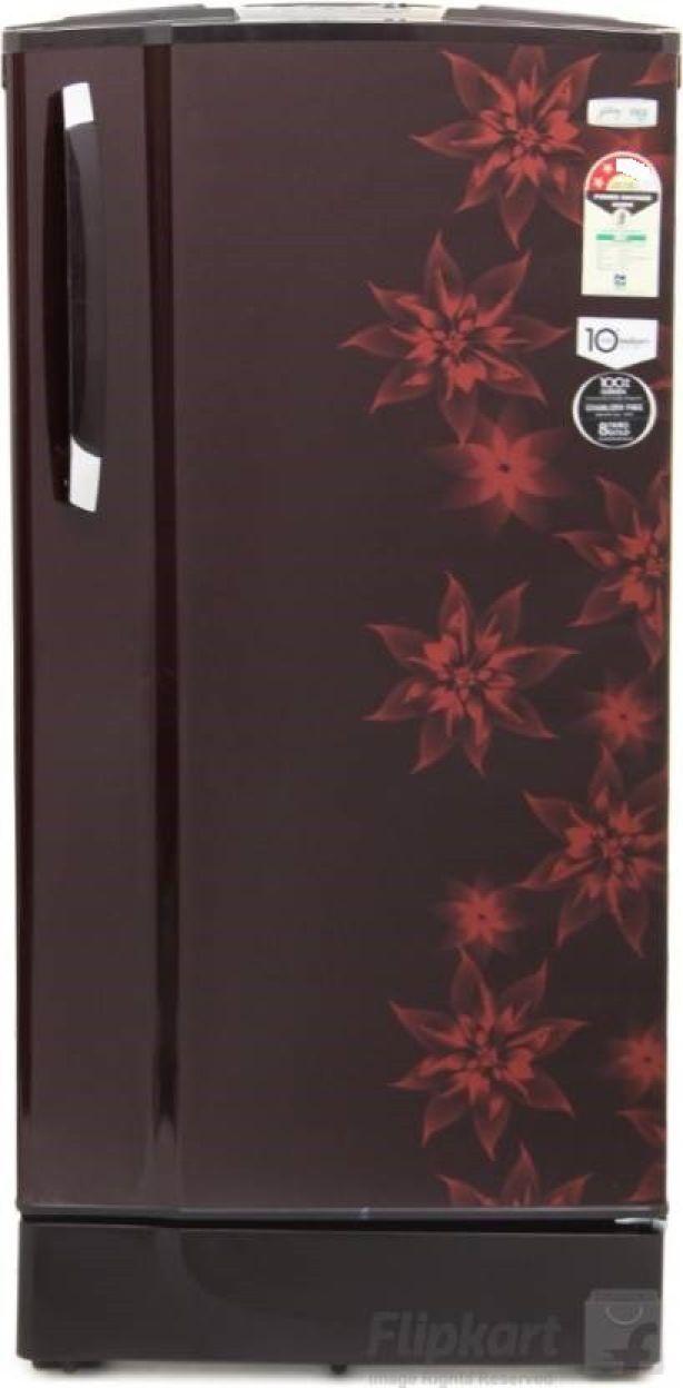 Godrej RD EdgeSX 185 PM 2.2 Muziplay 185L 2S Single Door Refrigerator (Berry Bloom)