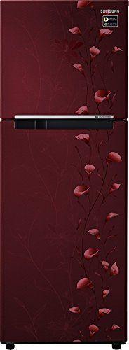 Samsung RT28M3022RZ/UZ 253 L 2 Star Inverter Frost Free Double Door Refrigerator (Tender Lily)