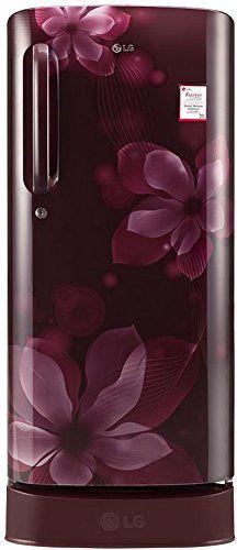 LG GL-D201ASOX/APOX 190 L 4 Star Inverter Direct Cool Single Door Refrigerator (Orchid)