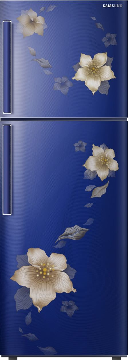 Samsung RT28M3343U2/R2 253 L 3 Star Inverter Frost Free Double Door Refrigerator (Start Flower)