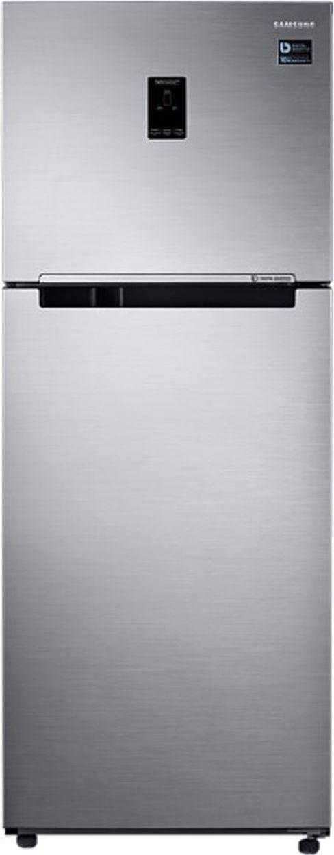 Samsung RT39M5538S8 394 L 3 Star Inverter Frost Free Double Door Refrigerator (Elegant Inox)