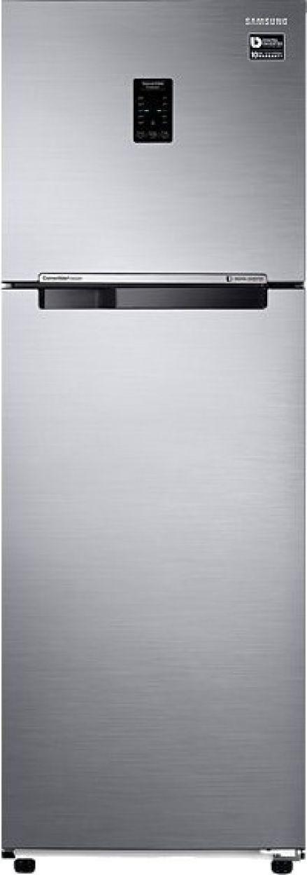 Samsung RT37M5538S8/TL 345 L 3 Star Inverter Frost Free Double Door Refrigerator (Elegant Inox)