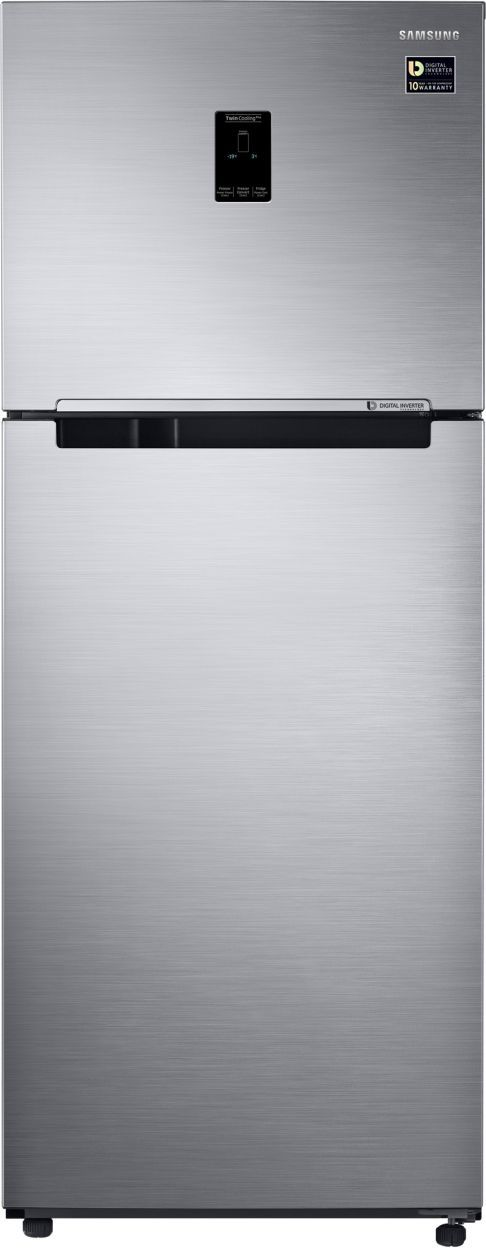 Samsung RT39M5538S9 394 L 3 Star Inverter Frost Free Double Door Refrigerator (Refined Inox)