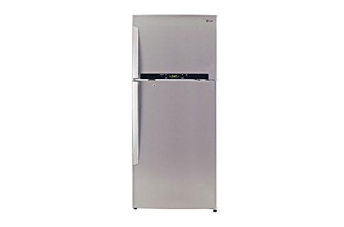 LG GL-T542GNSX 495 L 4 Star Inverter Frost Free Double Door Refrigerator (Noble Steel)