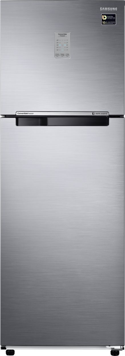 Samsung RT34M3743S9/HL 321 L 3 Star Inverter Double Door Refrigerator (Refined Inox)