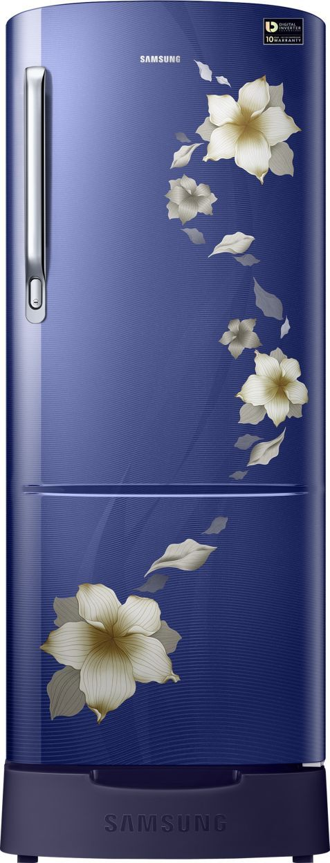 Samsung RR24M289YU2/NL 230 L 4 Star Direct Cool Single Door Refrigerator (Star Flower)