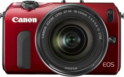 Canon EOS-M (18 - 55 mm) Mirrorless Camera