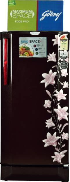 Godrej RD Edge Pro 190 CT 3.2 190L Single Door Refrigerator (Jasmine)