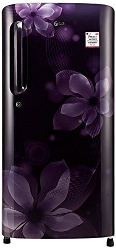 LG GL-B201APOX.APOZEBN 190 L 4 Star Inverter Direct Cool Single Door Refrigerator  (Purple Orchid)