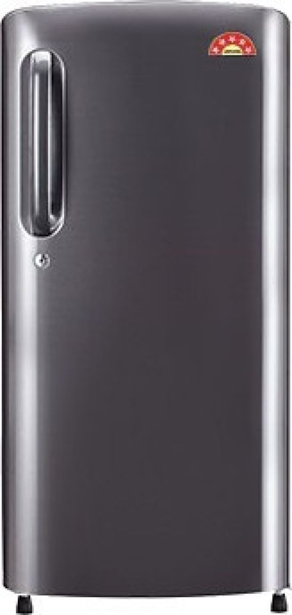 LG GL-B241APZX 235 L 4 Star Inverter Direct Cool Single Door Refrigerator (Shiny Steel)