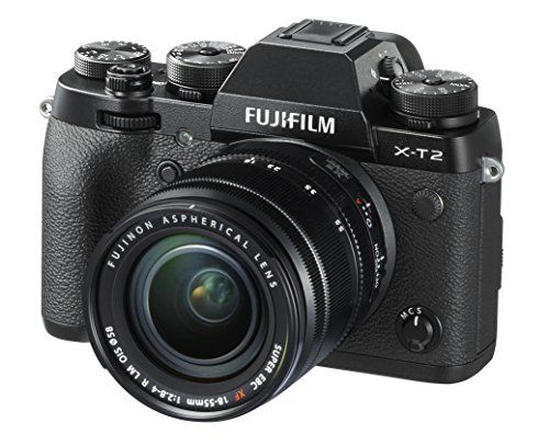 Fujifilm X-T2 Mirrorless Digital Camera (18-55mm F2.8-4.0 R LM OIS Lens)