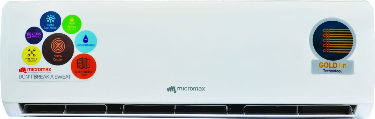 Micromax ACS18ED5AS02WHI 1.5 Ton 5S Split Air Conditioner