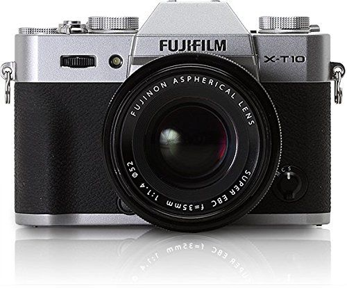 Fujifilm X-T10 Silver Mirrorless Digital Camera (with XF18-55mm F2.8-4.0 R LM OIS Lens)