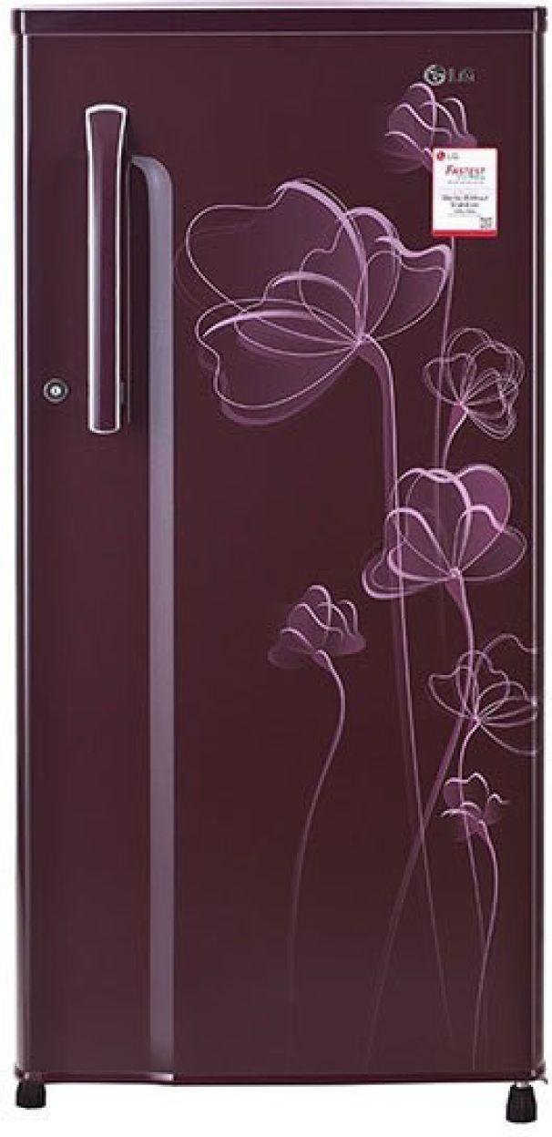 LG GL-B191KSHV 188L 2S Single Door Refrigerator (Scarlet Heart)