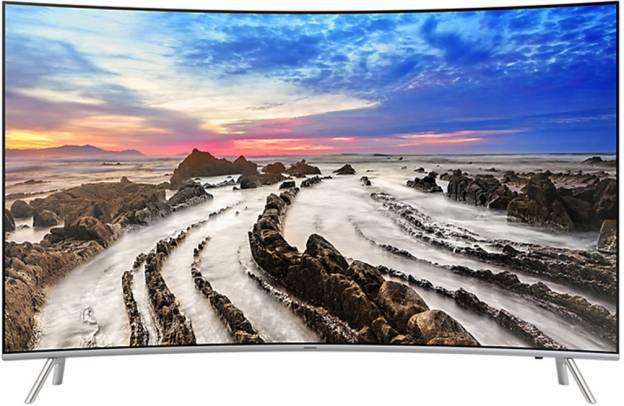 Samsung 55MU7500 55 Inch Ultra HD 4K Curved LED Smart TV