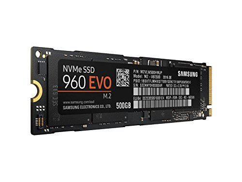 Samsung 960 EVO (MZ-V6E500BW) 500GB Internal SSD