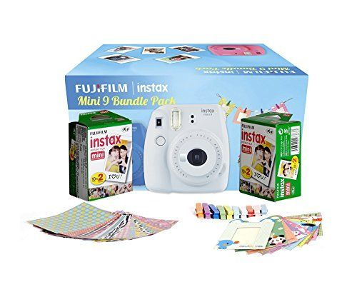 Fujifilm Instax Mini 9 Film Camera (With 20 Shot Films)