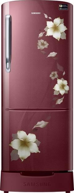Samsung RR24M289YR2 230 L 5 Star Inverter Direct Cool Single Door Refrigerator (Star Flower)