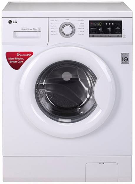 LG 6 Kg Fully Automatic Washing Machine (FH0G7NDNL02)