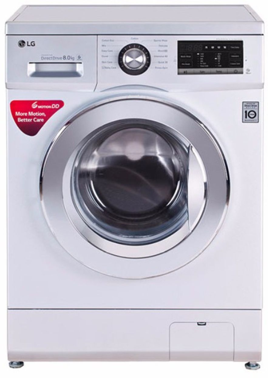 LG 8 Kg Fully Automatic Washing Machine (FH4G6TDNL42)