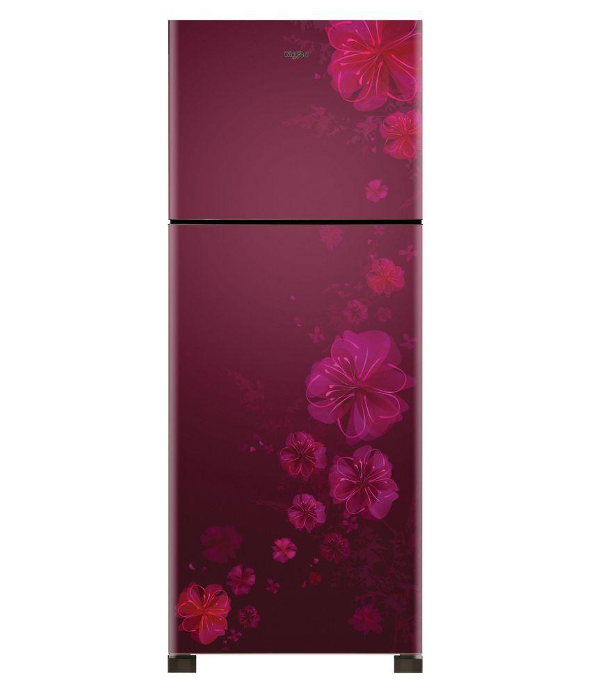Whirlpool NEO SP305 PRM 292L 3S Double Door Refrigerator (Dahlia)