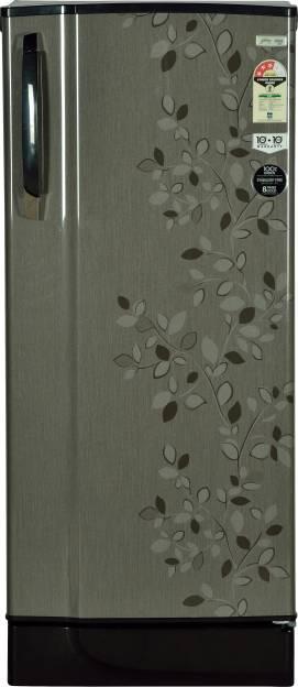 Godrej RD EDGESX 221 CT 3.2 221L 3S Single Refrigerator (Carbon Leaf)