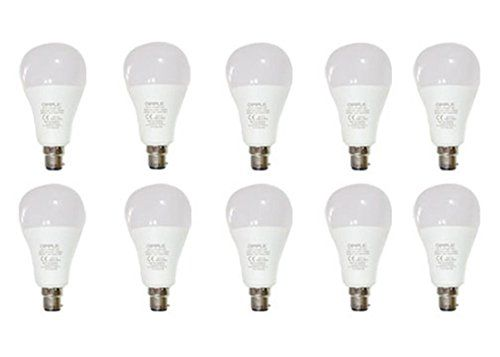 Opple 12W Round B22 1000L LED Bulb (Yellow,Pack of 10)