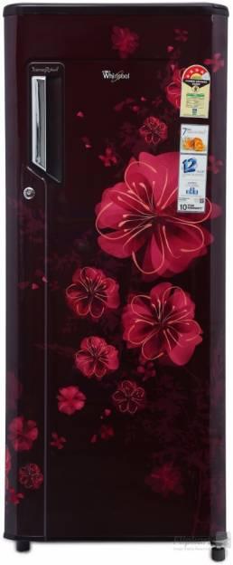Whirlpool 215 IMPWCOOL PRM 4S 200L Single Door Refrigerator (Wine Magnolia)