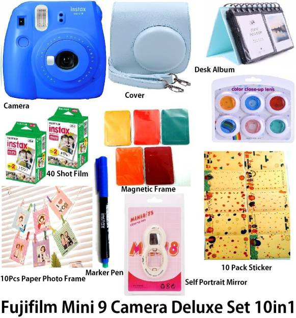 Fujifilm Mini 9 Deluxe Instant Camera
