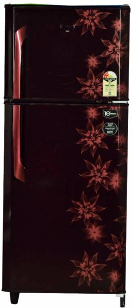 Godrej RT EON 231 C 2.4 231 L 2 Star Double Door Refrigerator (Berry Bloom)