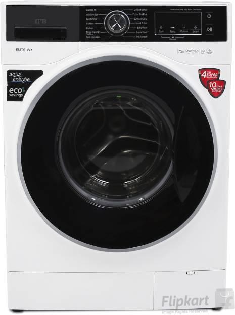 IFB 7.5kg Fully Automatic Front Load Washing Machine (Elite WX)