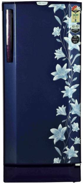 Godrej RD EDGEPRO 210 CT 3.2 210L 3S Single Door Refrigerator (Jasmine)