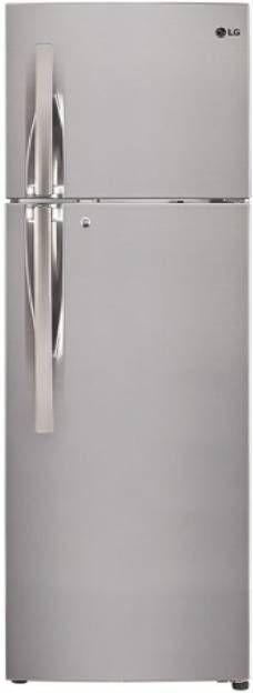 LG GL-T292RPZU 260L 3 Star Inverter Double Door Refrigerator (Shiny Steel)
