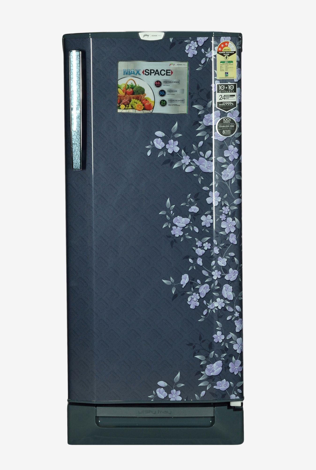 Godrej RD EDGEPRO 210 PDS 3.2 3S 210L Refrigerator (Indigo Floret)