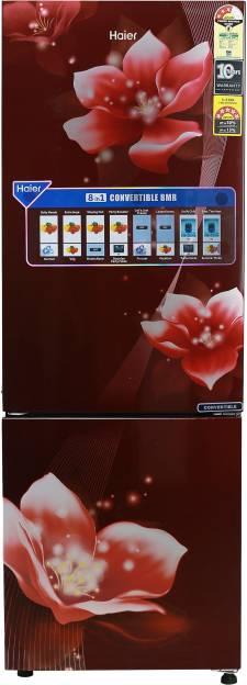 Haier HEB-25TRF 256 L 3 Star Frost Free Double Door Refrigerator (Magnolia)