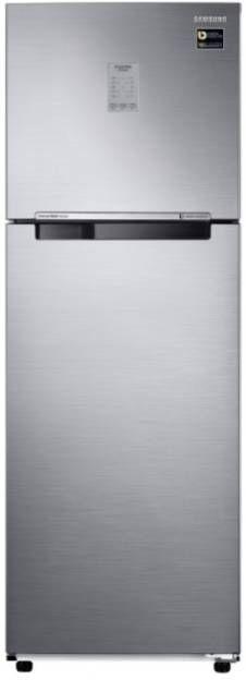 Samsung RT30N3723S8/NL/HL 275 L 3 Star Inverter Frost Free Double Door Refrigerator (Inox)