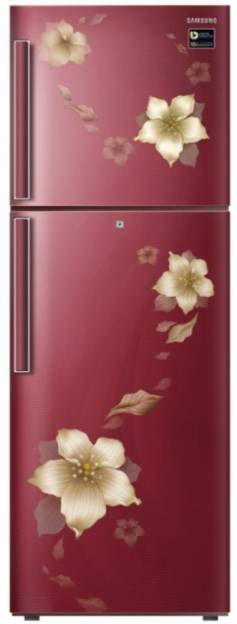 Samsung RT28N3342D2-HL/NL 253 L 2 Star Inverter Frost Free Double Door Refrigerator (Star Flower)