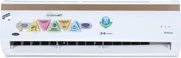 Carrier 12K Breezo CAI12BR5C8F0 1 Ton 5 Star Inverter Split Air Conditioner