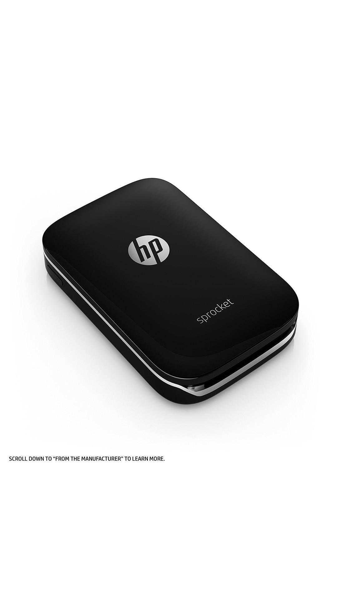 HP Sprocket (Z3Z92A) Portable Photo Printer