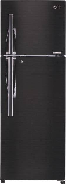 LG GL-T402JBLN 360 L 4 Star Inverter Frost Free Double Door Refrigerator