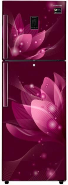 Samsung RT34M5438R8 324 L 3 Star Frost Free Double Door Inverter Refrigerator (Saffron)